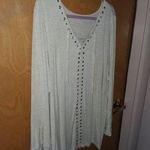 DRESS BARN PEASANT Shirt size 2X